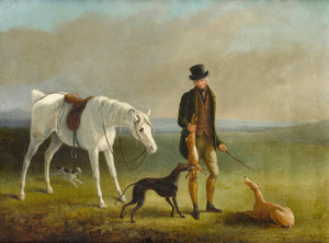 Art Prints of Coursing Scene by William Barraud