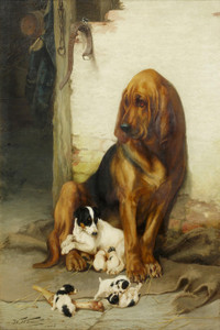 Art Prints of The Guardian by William Henry Hamilton Trood