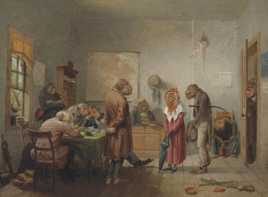 Art Prints of Divorce by William Holbrook Beard