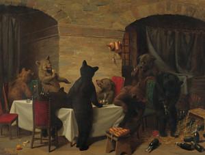 Art Prints of Bear Carousel by William Holbrook Beard