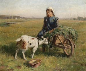 Art Prints of A Dutch Idyll by William Kay Blacklock