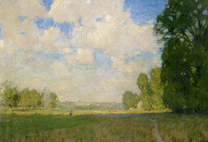 Art Prints of Sunlit Meadow by William Lathrop