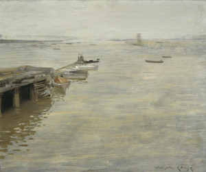 A Gray Day by William Merritt Chase | Fine Art Print