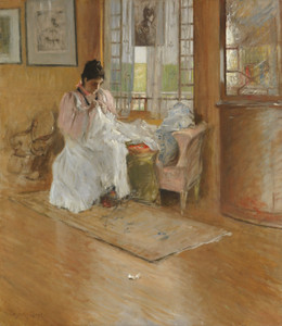 Art Prints of For the Little One by William Merritt Chase