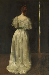 Art Prints of Seventeenth Century Lady by William Merritt Chase