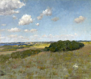 Art Prints of Sunlight and Shadow, Shinnecock Hills by William Merritt Chase
