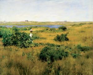Art Prints of Summer at Shinnecock Hills by William Merritt Chase