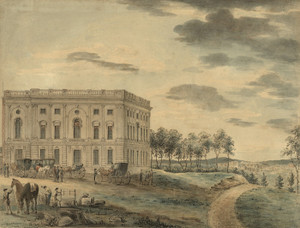 Art Prints of A View of the Capitol of Washington (22593L) by William Russell