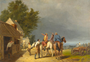 Art Prints of First News of the Battle of Lexington by William Tylee Ranney