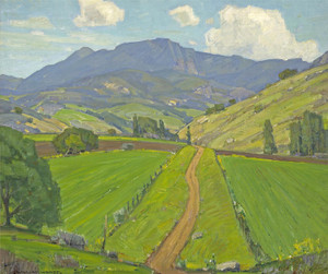 Art Prints of A Trickle of Road by William Wendt