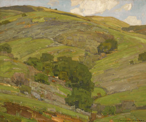 Art Prints of California Hills by William Wendt