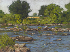 Art Prints of Edge of a River by William Wendt