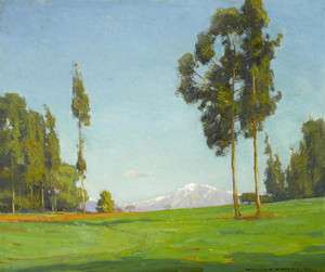 Art Prints of View of Mount Baldy by William Wendt
