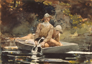 Art Prints of After the Hunt by Winslow Homer