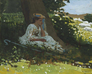 Art Prints of Bo Peep by Winslow Homer