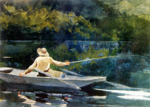 Art Prints of Casting Number Two by Winslow Homer