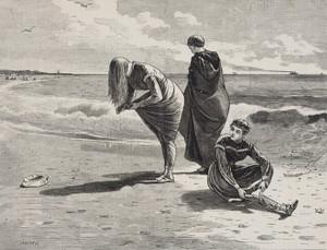 Art Prints of High Tide by Winslow Homer