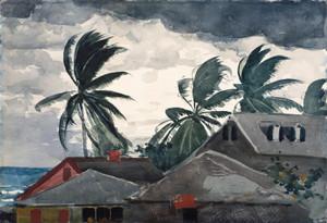 Art Prints of Hurricane Bahamas by Winslow Homer
