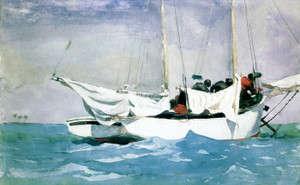 Art Prints of Key West Hauling Anchor by Winslow Homer