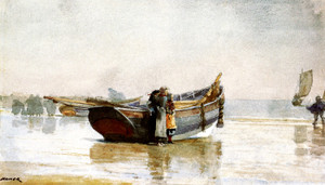 Art Prints of Looking out to Sea by Winslow Homer