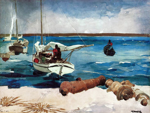 Art Prints of Nassau by Winslow Homer