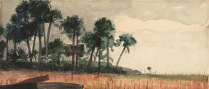 Art Prints of Red Palm Trees by Winslow Homer