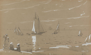 Art Prints of Sailboats by Winslow Homer