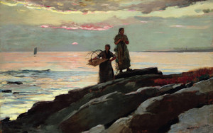 Art Prints of Saco Bay by Winslow Homer