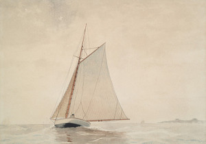 Art Prints of Sailing off Gloucester by Winslow Homer