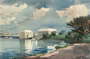Art Prints of Salt Kettle Bermuda by Winslow Homer