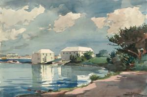 Art Prints of Salt Kettle Bermuda by Winslow Homer