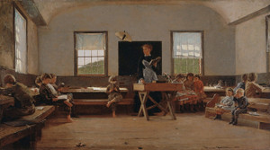 Art Prints of The Country School by Winslow Homer