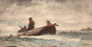 Art Prints of Tynemouth Priory, England by Winslow Homer
