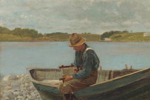 Art Prints of Winding Line by Winslow Homer