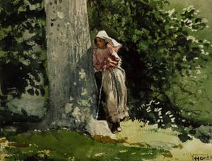 Art Prints of Weary by Winslow Homer