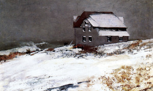 Art Prints of Winter, Prout's Neck, Maine by Winslow Homer