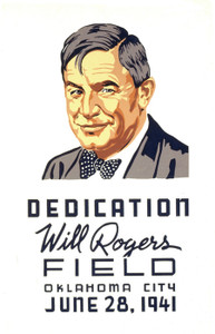 Art Prints of Dedication, Will Rogers Field, Oklahoma City (399110), WPA Poster