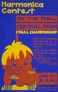 Art Prints of Harmonica Contest on the Mall (399137), WPA Poster