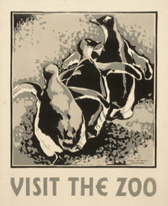 Art Prints of Visit the Zoo (399136), Travel Poster