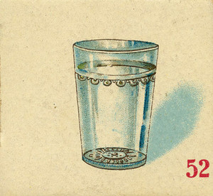 Art Prints of Game Piece, Drinking Glass, Vintage Game Pieces & Playing Cards