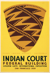 Art Prints of Indian Court Federal Building, San Francisco, Travel Posters