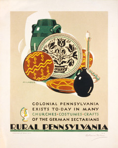 Art Prints of Rural Pennsylvania Poster, Travel Posters