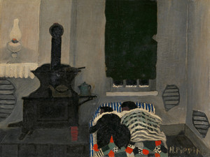 Asleep by Horace Pippin   Fine Art Print