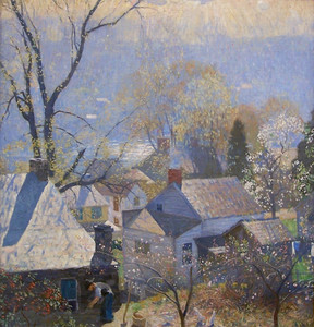Art Prints of Springtime in the Village by Daniel Garber