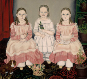The Lincoln Children by Susan Waters   Fine Art Print
