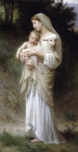 Art Prints of Innocence by William Bouguereau