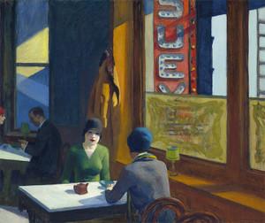 Art Prints of Chop Suey by Edward Hopper