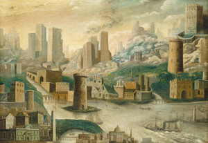 Art Prints of A City of Fantasy by 19th Century American Artist