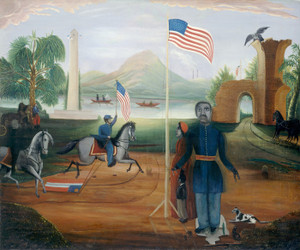 Art Prints of Allegory of Freedom by 19th Century American Artist