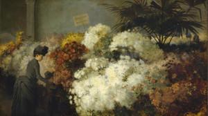 The Chrysanthemum Show by Abbott Fuller Graves | Fine Art Print